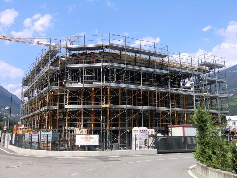 Neubau unseres Betriebsgebäudes